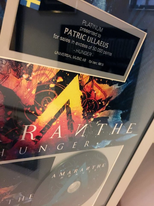 Amaranthe platinum patric ullaeus hunger video award